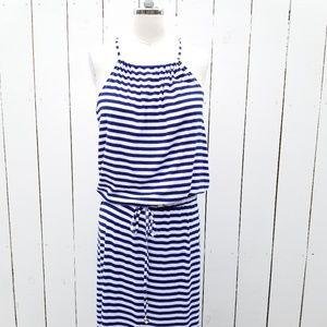 Victoria's Secret Maxi Striped Halter Dress